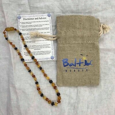 Authentic Balt Wonder Baltic Amber Teething Necklace For Babies