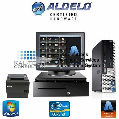 Aldelo Pos System For Bakeries_Bars_Restaurants - Complete Hardware And Software