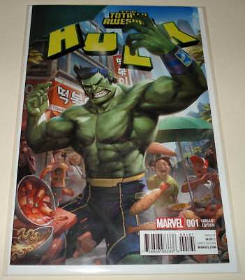 The TOTALLY AWESOME HULK # 1 Marvel Comic (Feb 2016)  NM  1:25 Cheol VARIANT