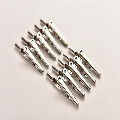 Single Prong Alligator Clips With Teeth Aligator Stainless Steel Clips PL