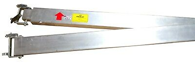Manhole / Telecomm Vault Plank Supports, Aluminum Beams, p/n 118390-001,One Pair