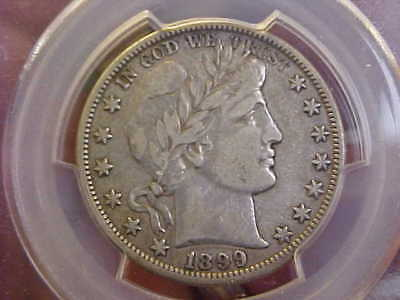 1899 O  Barber Half Dollar Pcgs Good Vf 30  Quality  Rare Coin