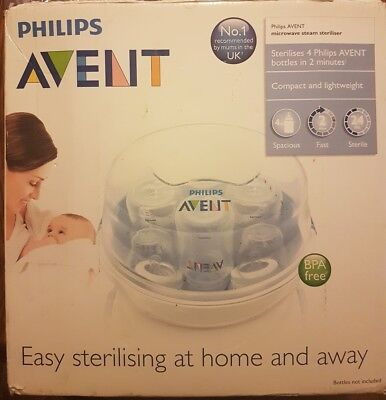 Philips avent microwave steriliser. new in box