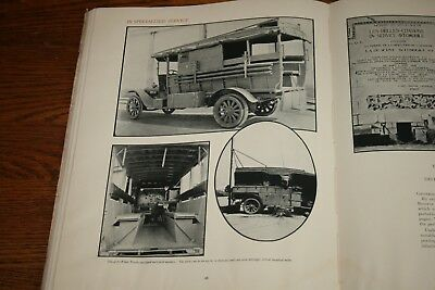 1919 The White Truck Company Advertising Sales Catalog Military Service