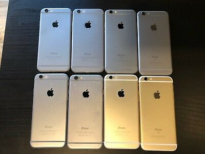 LOT of (8) iPhone 6/6s for PARTS