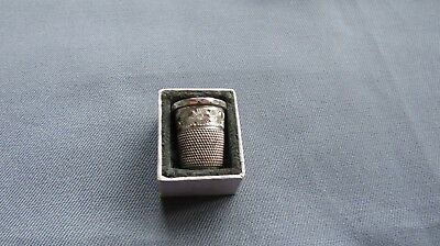 A Charles Horner Silver Thimble-Assay Marked 1905