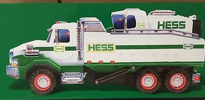 "Hess toy truck 2017  Dump Truck and Loader self powered loader "" REALISTIC """