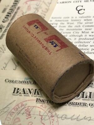 Morgan & Peace Dollar Mixed Roll Steel Strong Shotgun Wrapper With Covered Ends