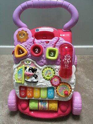 Vtech Baby First Steps Walker (Pink) with Phone
