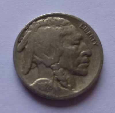 USA - United States 5 Cents 1928, American bison - American buffalo, Indian Head