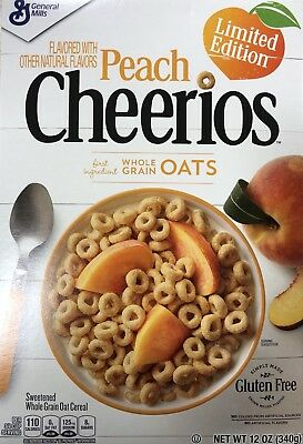 General Mills Peach Cheerios 340g (Limited Edition)
