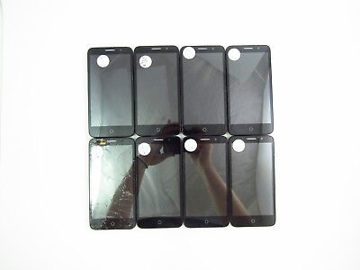 Lot of 8 Parts & Repair Alcatel Tru 5065N Metro PCS Check IMEI 5PR 700