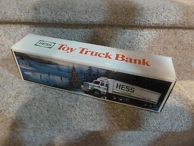 1987 Hess Toy Truck Bank BRAND NEW with BOX