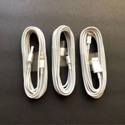 3X 10ft USB Charger Cable Data Cord foit iPhone 5 i Phone 6 6s i Phone 7 Plus