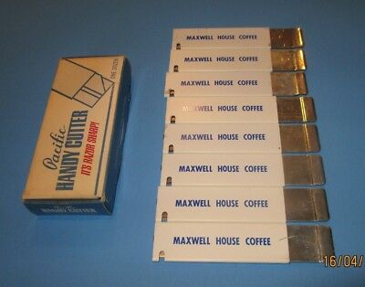 8 Vintage Advertising Maxwell House Coffee Box Cutter Knife Tool New