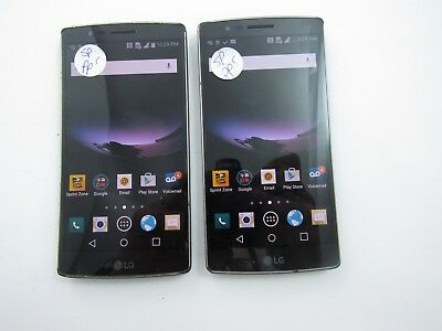 Lot of 2 LG G Flex 2 LS996 Sprint Check ESN C 213
