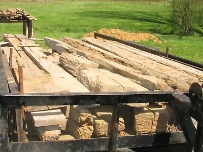 antique 100+ year old hand hewn timber barn beams