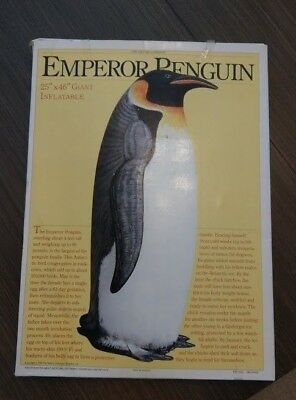 New Large Inflatable Emperor Penguin Blow Up Decoration from The Nature Company