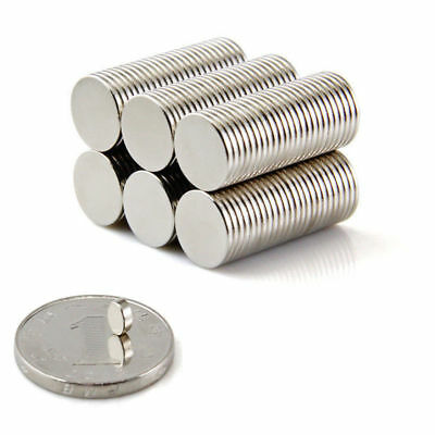 NEW 50Pcs Strong N35 Neodymium Magnets Rare Earth Round Disc Fridge Craft 4x2mm