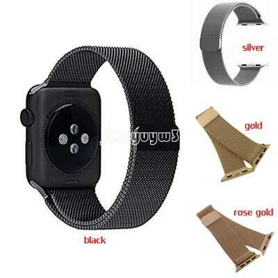 Fashion Loop Band for Apple watch iwatch 42mm 38mm Link Bracelet Strap Magnetic