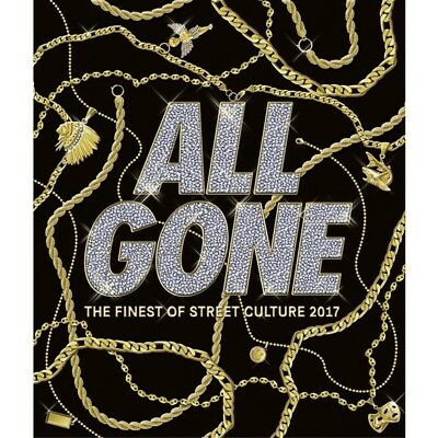 All Gone The Finest of Street Culture 2017 Black Hardcover Book - Sealed