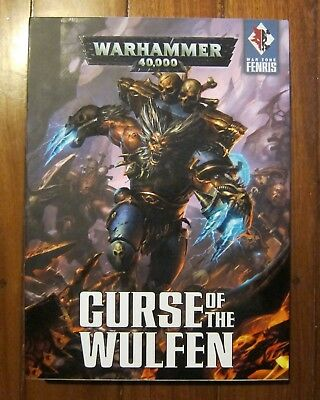 Warhammer 40K Curse Of The Wulfen Dual Hardback Book Set With Slipcase Excellent