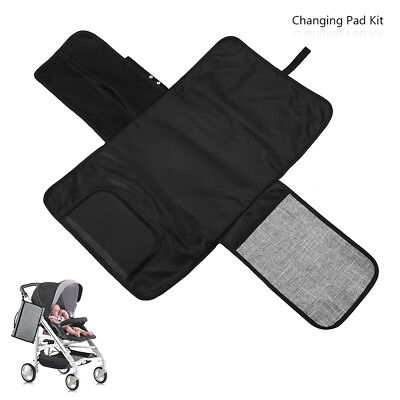 Portable Travel Home Diaper Changing Pad Kit for Newborn Baby Infant Waterproof