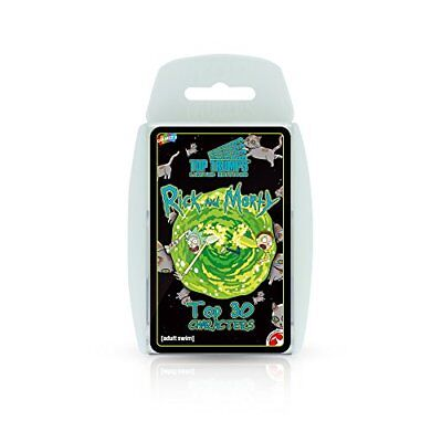 Top Trumps Rick and Morty Card Game New Sealed