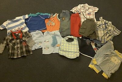 Boy's Baby Bulk Clothing Size 0 includes Pumpkin Patch