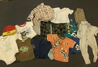 Boy's Baby Bulk Clothing Size 0