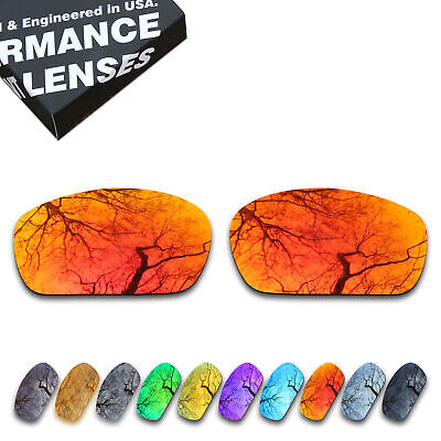T.A.N Polarized Lenses Replacement for-Oakley Racing Jacket-Multiple Options