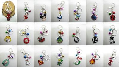 Nea Classic cartoon Bells Keychain Keyring Metal Pendants Cosplay Cartoon Gift