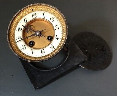 Vintage French Mantel Clock By Japy Freres For Spares Or Repair