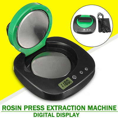 Display Digital Rosin Extracting Tool Heat Press Machine Extraction For Tech Oil