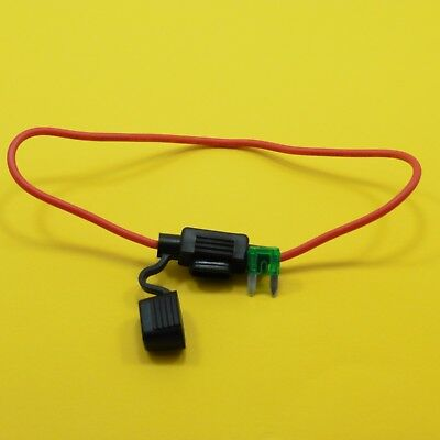 12V Mini Blade Fuse Inline Waterproof  Holder and Fuse by Choice Boat Car Bike