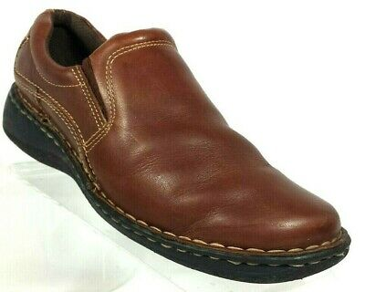 492ee7d4d44e Thom McAn Womens Sz 9 M Loafers Slip on Casual Comfort Shoes Brown Leather  (A3