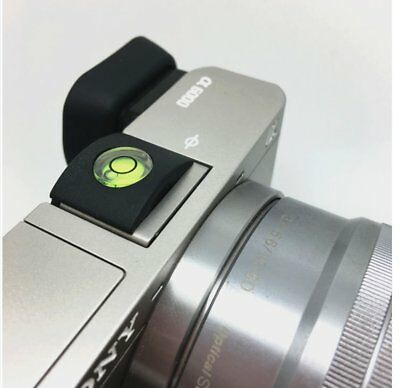 Flash Hot Shoe Spirit Level Bubble Cover Cap for Camera Canon Nikon Olympus NEW
