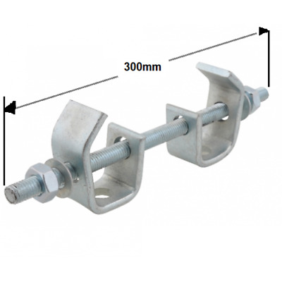 300mm Heavy Duty Beam Clamp Assembly (D053PX300)