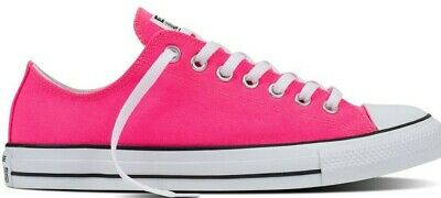a5bb11dcd88f Converse Chuck Taylor All Star Ox Knockout Pink Low Top Trainers UK 5.5 UK  6.5