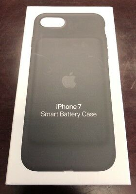 NEW AUTHENTIC Genuine Apple Smart Battery Case iPhone 7 8 Black A1765 MN002LL/A