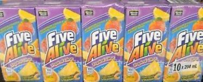 Five Alive Tropical Citrus Juice Drink Bo X 200ml Canadian Made