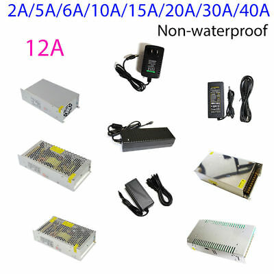 Power Supply AC to DC Adapter  12V24V2A 3A 5A 6A 12A 15A 20A 30A40Afor LED Strip