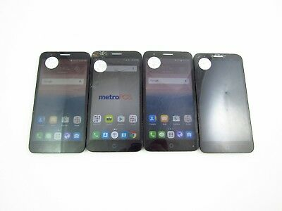 Lot of 4 Parts & Repair Alcatel Allura/ Fierce 4 GSM Carriers Check IMEI 3PR 865