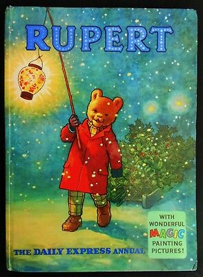 Vintage Original 1960 Rupert Bear Annual, Unscribed