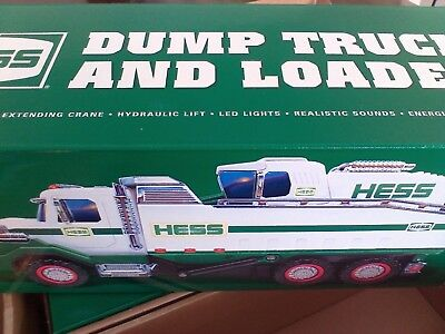 2017 Hess Dump Truck And Loader Brand New In Box