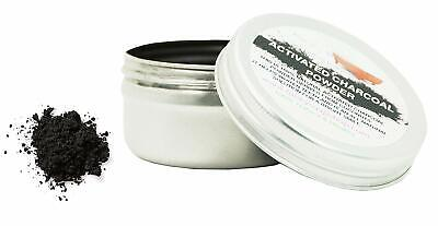 1 tin Activated Charcoal Powder, 25g, 100% natural for teeth whitening
