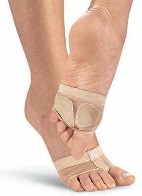 Capezio Foot Undeez Nude #h07C - Child'S Size M - New With Box