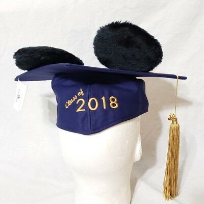 Disney Parks Mickey Mouse Ear Hat Graduation 2018 Cap With Tassel