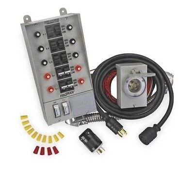 Reliance Controls Corporation 31410CRK 30 Amp10-circuit Transfer Switch