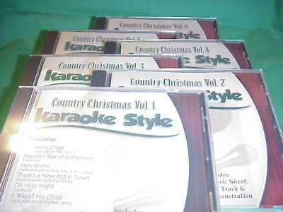 Karaoke Entertainment Musical Instruments & Gear Country Christmas Volume 5 Christian Karaoke Style New Cd+g Daywind 6 Songs